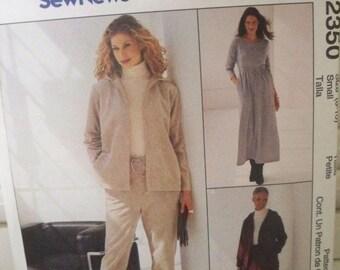 Dress and Jacket Pattern - McCall's 2350 Women's Pattern - Uncut