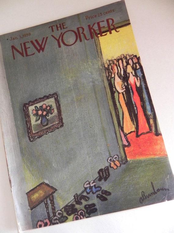 The New Yorker 1959 Magazine