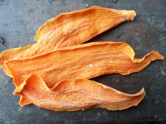 Organic Sweet Potato Ears - Dog Chew Treats - Great Vegetarian Alternative to Pig Ears
