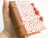 Handmade Vellum and Leather Journal - King Arthur Inspired
