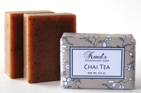 Handmade Soap - CHAI TEA - Vegan Soap