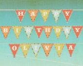 Custom Birthday Banner PDF