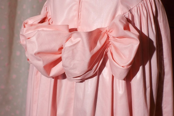 VTG Formal 1980's Bustle Dress Gown