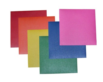 Pearlescent Color Stickers - 6 Sheets