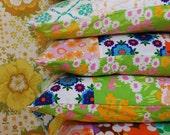 vintage patchwork cushions