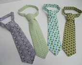 Neckties for Boys.  Photo Prop for Newborns.  Custom Order Options Available.