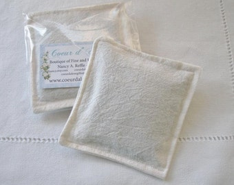 Handmade Grosso Lavender Filled Dryer Sachets made from Vintage Linen, Great Stocking stuffers
