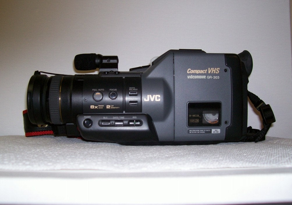 Jvc Camera Video Movie Compact Vhs Recorder Gr 303 Amp Case