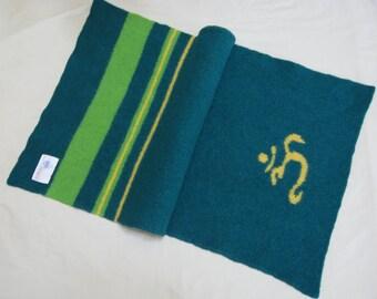 Green Om Yoga Mat Runner