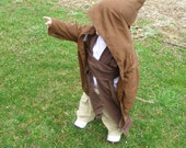 Jedi Robe Baby Toddler sized Ready to SHIP