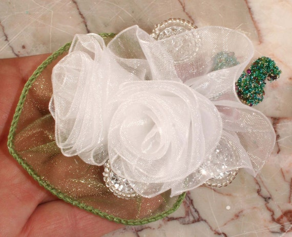 Prom Bout, Rose Flower Pin Beaded, Boutonniere Prom, Corsage Prom, Lapel Pin