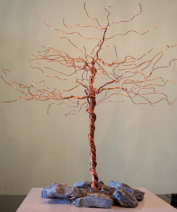 Jewelry stand hair extensions display necklaces holder for How to make a wire tree jewelry stand