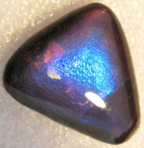 Ammolite Gemstone, Ammolite Cabochon, Purple Ammolite, Blue Ammolite, Ammonite Cabochon, fossilized pendant, ammonite fossil