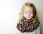 Veronica - Crochet PATTERN ONLY - Childrens Cowl Neckwarmer