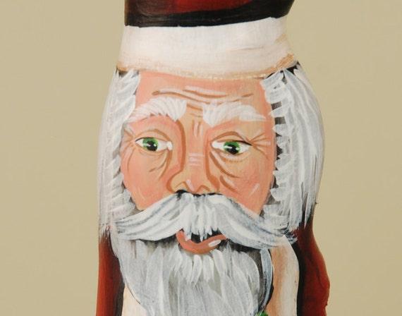 Wood Santa Claus Cypress Knee Joy To The World