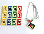 Cute UNO Necklace ( from real uno card)