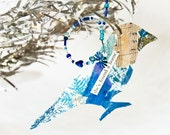 Paper Bird Ornament Small Art