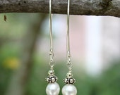 Delicate Dangle of Freshwater Pearl
