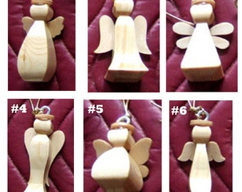 Angel - Angels -  Mini Angel Ornament