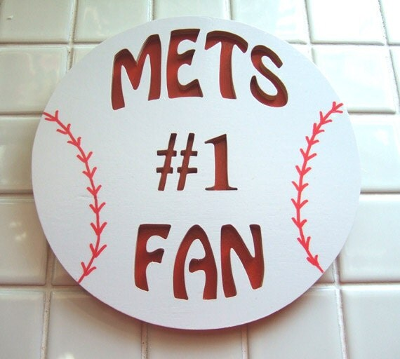 Baseball Fan - No. 1 Yankees Mets Phillies, School Team Plaque, Baseball Team Plaque