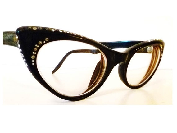 Vintage Cats Eye Glasses Frames Womens