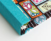 3 Ring Binder Fabric Covered PEACE 1 inch