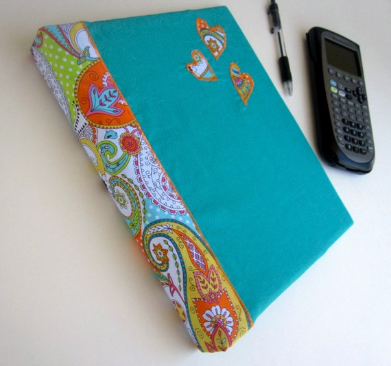 PAISLEY LOVE Binder Cover 3 Ring Binder Journal By Bananabunch