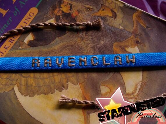 Ready-to-Ship Ravenclaw House Woven Bracelet