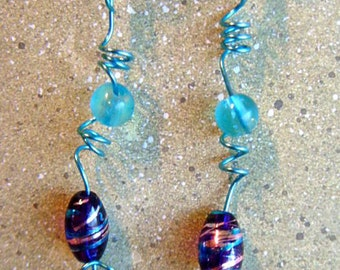 Skys the Limit Handmade Drop Earrings  item 1625