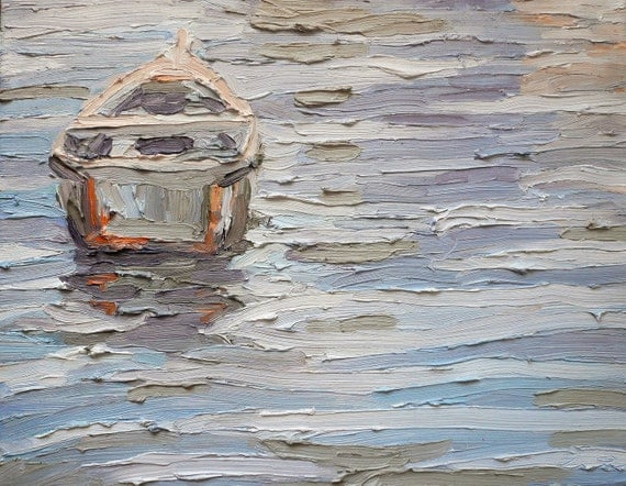 Original Painting: Boat on the Water