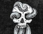 Tentaskull 8x10 Art Print