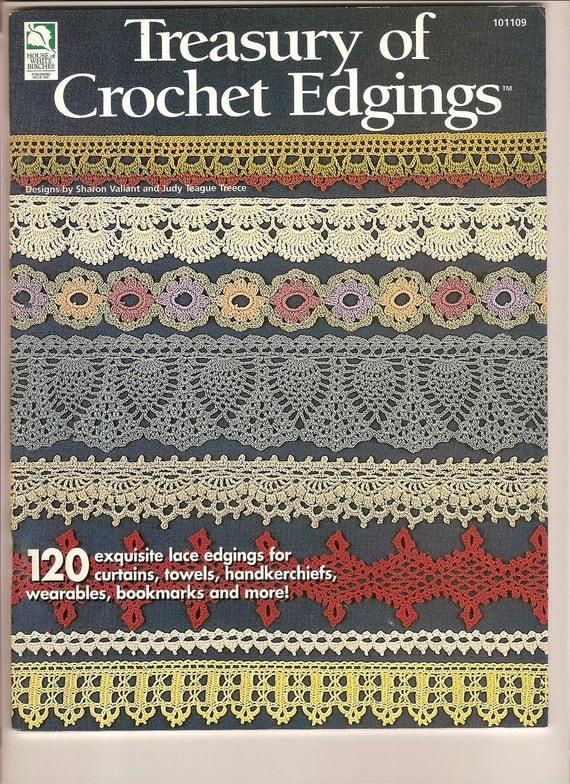 Treasury Of Crochet Edgings NEW Pattern Book