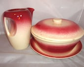 SALE..Malibu Modern By HollyDale Pottery of Calif. Sale is Pending on Pitcher Only