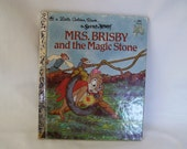A Little Golden Book - Mrs. Brisby and the Magic Stone