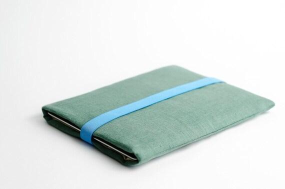 iPad sleeve mint green