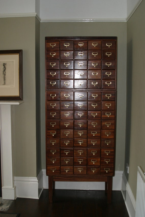 card catalog cabinet items similar to card catalog cataloug library cabinet 13272