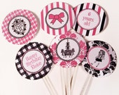 Eloise Party Cupcake Toppers