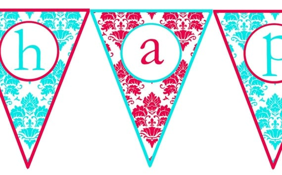 Impertinent image inside happy anniversary banner free printable