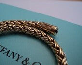 Tiffany Russian Weave Gold Bracelet....Reserved for SUE
