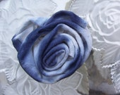 Upcycled Tye Dye Rose - Hair Clip/Pin/Brooch - SALE