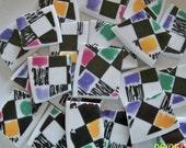Mosaic Tiles BRIGHT BOLD CHECKS