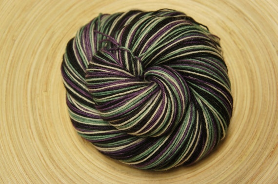 Herman and Lily in Sabella, 75/25 SW BFL and Nylon, Fingering Sock weight