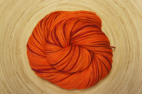 Velma...In Toula, 80/20 SW Merino and Nylon, Fingering Sock weight