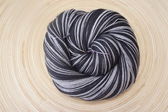 Motley Crew in Sabella, 75/25 SW BFL and Nylon, Fingering Sock weight