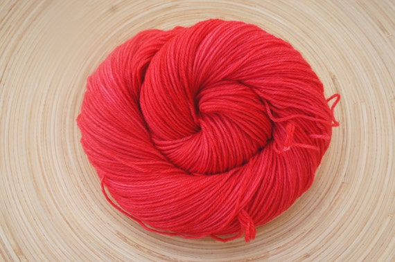 The Red Lady, on Elsa SW MCN, 435 yds, Fingering/Sock 100g