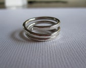 Coil Ring-Sterling Silver - SOLD on 3/13/12 - Custom Order Available