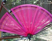 Bicycle skirt guard:  Lily The Pink