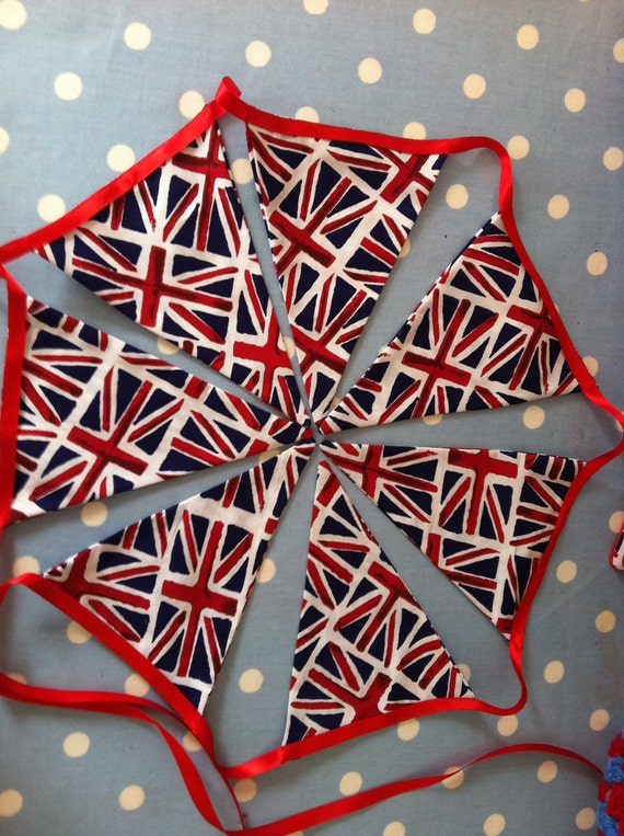 Union jack double sided bunting