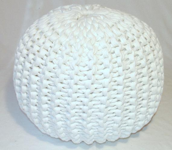 knitted pouf pattern pdf