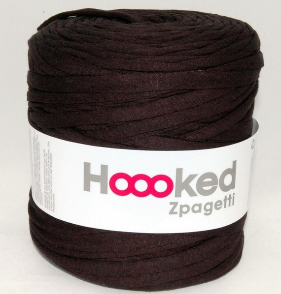t-shirt yarn 135 yards, recycled cotton tricot named Zpagetti